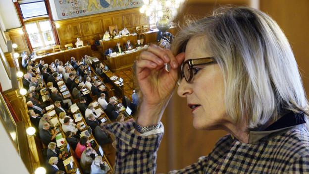 Der Kantonsrat Zürich muss über Regine Aepplis Immunität entscheiden.