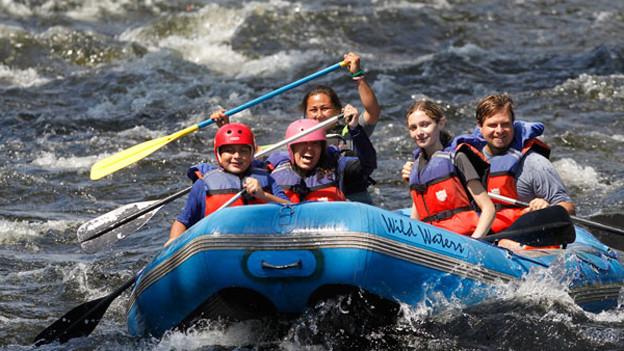 Risikosport River Rafting