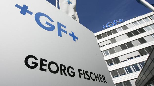 Der Hauptsitz der Georg Fischer AG in Schaffhausen.