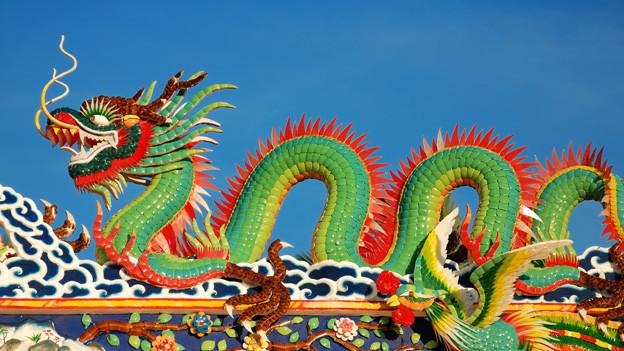 Ein chinesischer Drachen