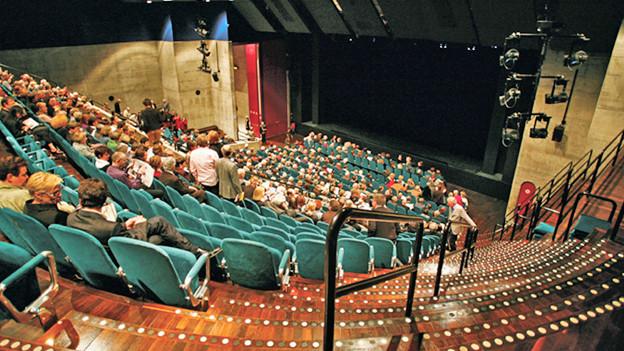 Saal des Theaters Winterthur