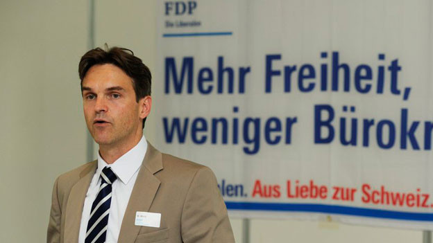 Zürcher FDP-Präsident Beat Walti