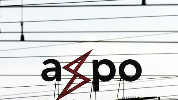 Das Logo der Axpo