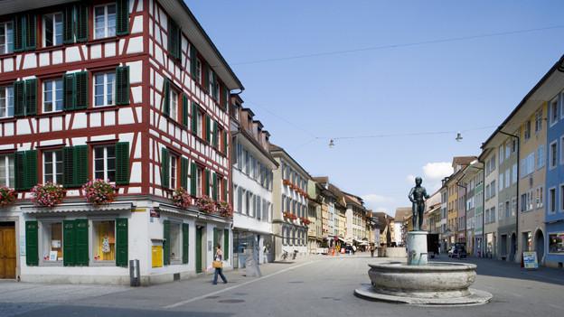Steinbergergasse in Winterthur.