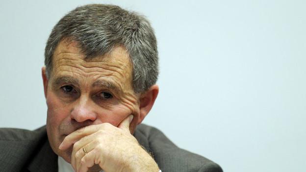 Zürcher Regierungsrat Ernst Stocker (SVP)