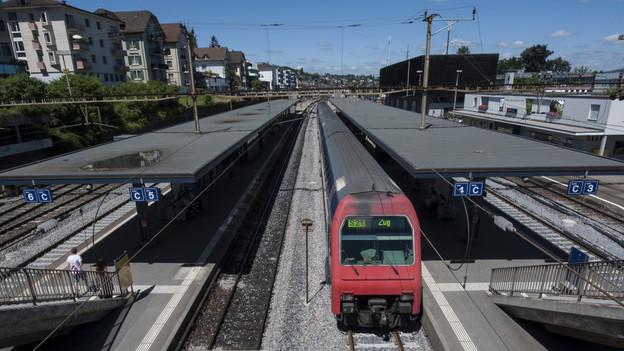 Ansicht Bahnhof Thalwil