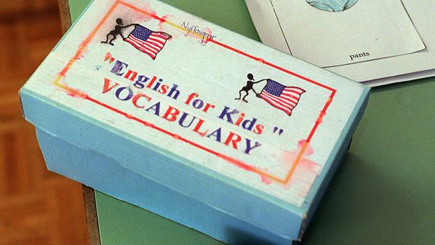 Wörterbox für das Frühenglisch an der Schule