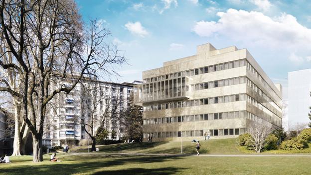 Das Unispital-Provisorium ist umstritten.