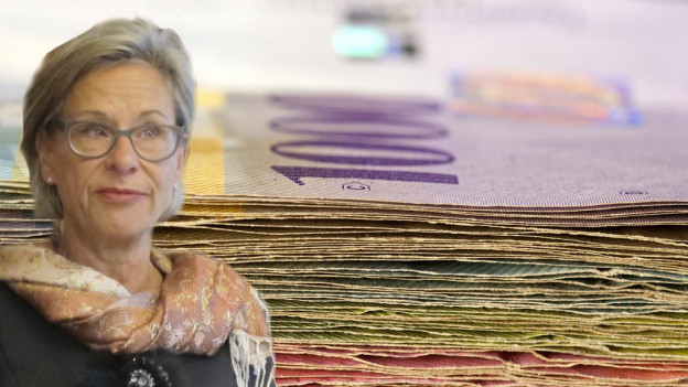 Die Nötli fehlen, ein Massnahmepaket solls richten: Finanzdirektorin Rosemarie Widmer Gysel ist überzeugt, dass das Paket im Kantonsrat durchkommt.