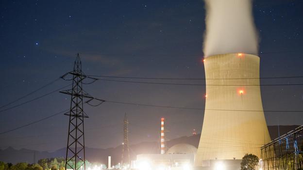 Atomkraftwerk Gösgen.