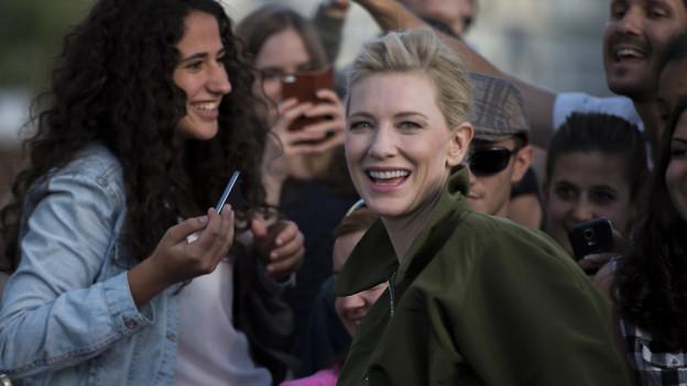 Das Zürich Film Festival bringt Stars wie Cate Blanchett nach Zürich.