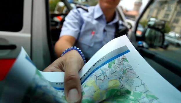 Mit der Vorhersage der Software werden Polizeipatrouillen in die entsprechenden Quartiere geschickt.
