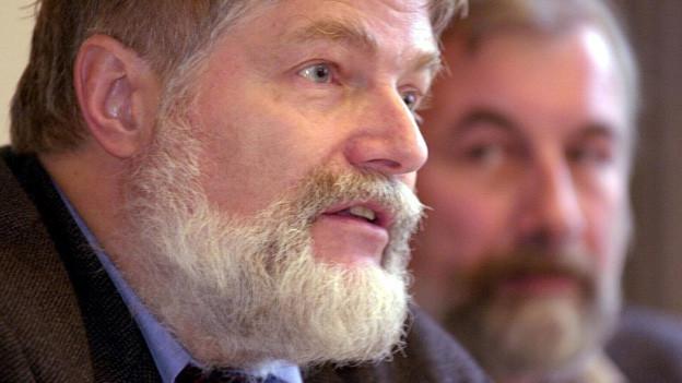 Portrait eines Mannes mit weissem Bart
