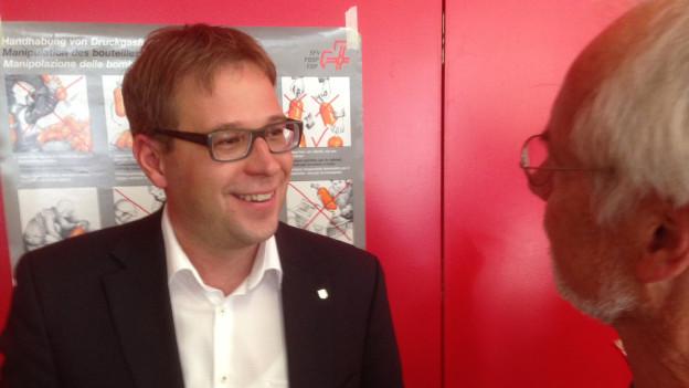 Im zweiten Anlauf geschafft: Daniel Preisig ist gewählt.