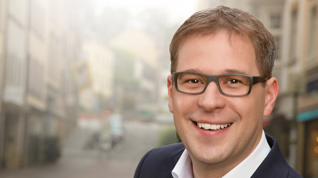 Daniel Preisig (SVP), neu gewählter Stadtrat in Schaffhausen.
