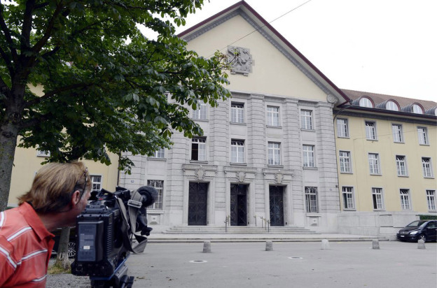 Das Bezirksgebäude in Zürich.