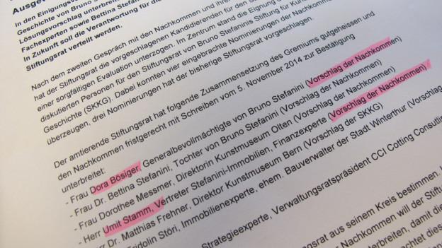 «Ausgewogene Lösung» titelt die Medienmitteilung der Stiftung.