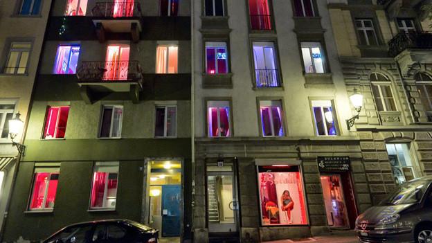 Zimmer von Prostituierten im Zürcher Niederdorf.