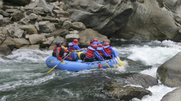 Der Riverrafting-Ausflug von 2007 endete in einer Katastrophe (Symbolbild).