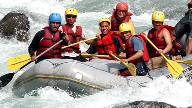 Gefährliches Riverrafting (Symbolbild).