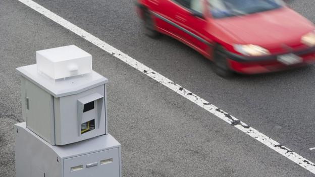 Fixe Radarkästen sind in Zürich ein Auslaufmodell.
