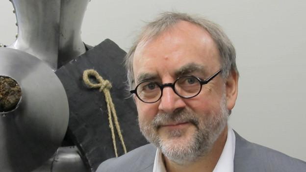 Peter Jezler, entlassener Direktor des Museums zu Allerheiligen in Schaffhausen.