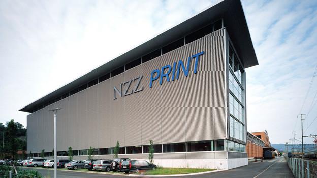 Gebäude NZZ Druckerei