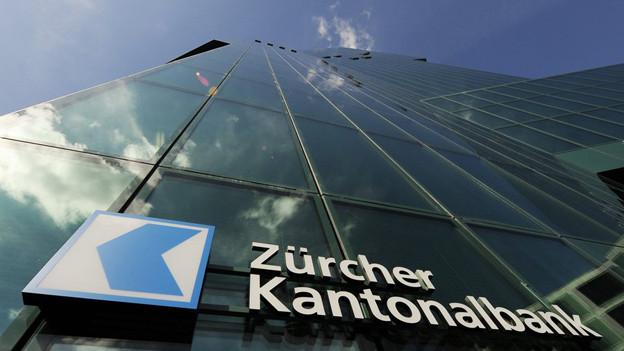 Aussenansicht der Zürcher Kantonalbank.
