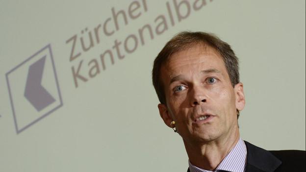 ZKB-Chef Martin Scholl