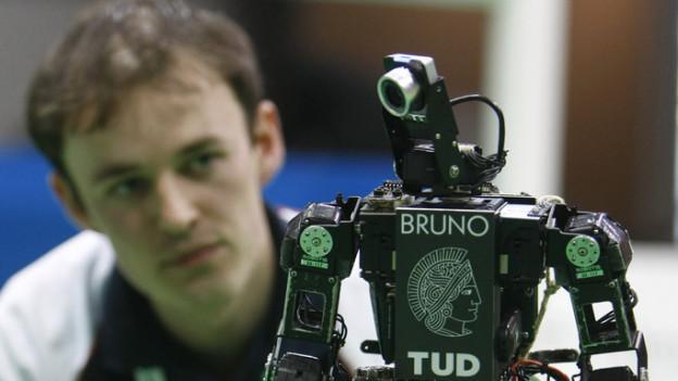 Das WTZ soll Forschende aus allen Bereichen zusammenbringen - auch aus der Robotik.
