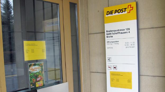 Gilt als akut gefährdet: Die Poststelle im Schaffhauser Quartier Breite.