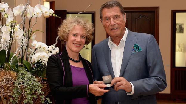 Corine Mauch und Udo Jürgens.