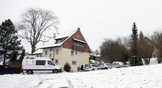 Das Haus in Flaach, in dem sich das Drama abspielte