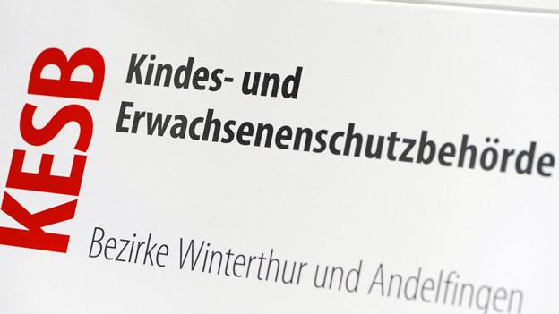 Zielscheibe wütender Kommentare: Die Kesb Winterthur-Andelfingen.