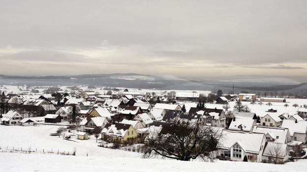 Winterlandschaft Flaach