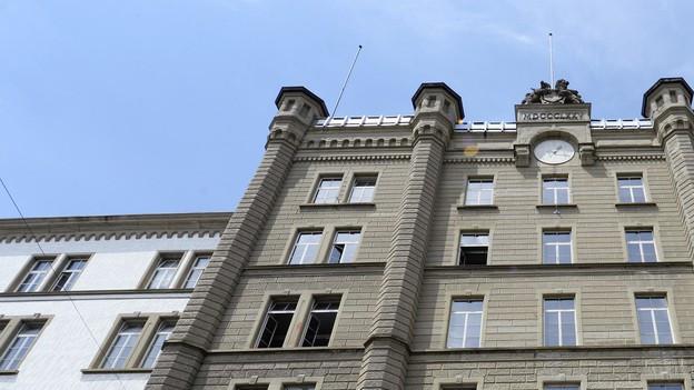 Soll-Bestand im Moment erreicht: Hauptgebäude der Zürcher Kantonspolizei