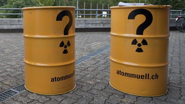 Bis jetzt existieren für den Atommüll nur Zwischenlager.