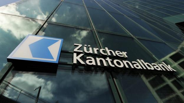 Zinsen belasten die Zürcher Kantonalbank