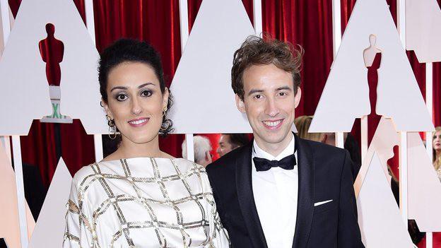 Talkhon Hamzavi und Stefan Eichenberger an der Oscar Verleihung 2015