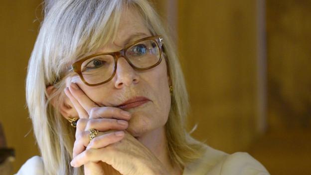 War bei der Debatte im Kantonsrat nicht anwesend: Regierungsrätin Regine Aeppli.
