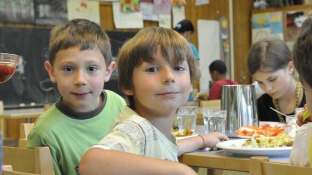 Mittagessen in der Tagesschule