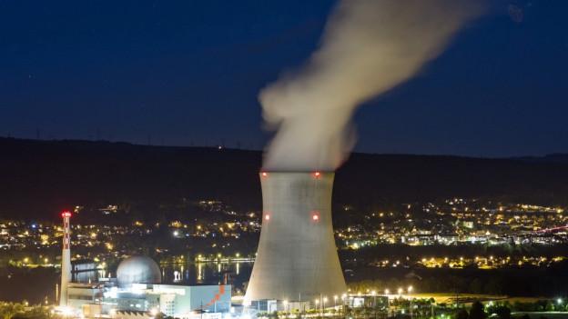 Atomkraftwerk in Leibstadt