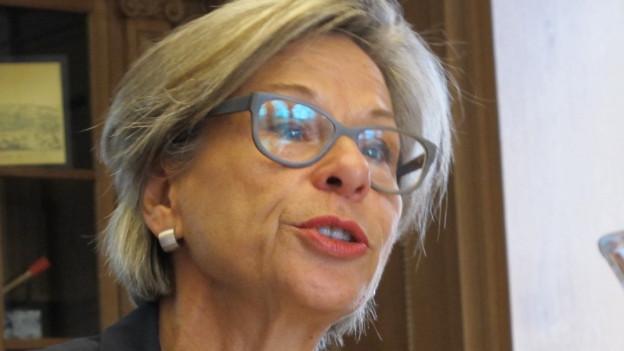 Rosmarie Widmer Gysel will weiter sparen