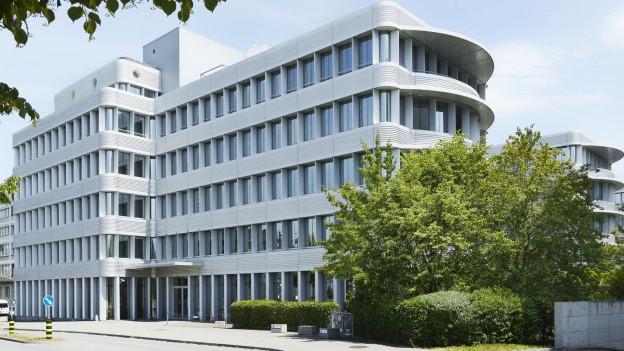 Das neuerworbene Bürogebäude der Stadt Zürich in Neu-Oerlikon