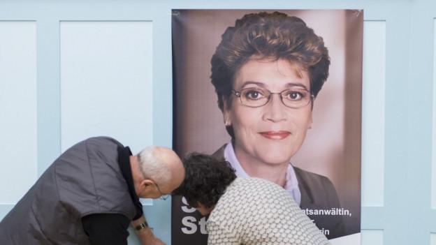 Schlammschlacht gege Silvia Steiner.