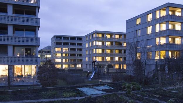 Wohnsiedlung in Albisrieden.