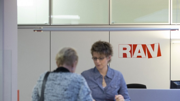 Ein Beratungsgespräch in einem RAV