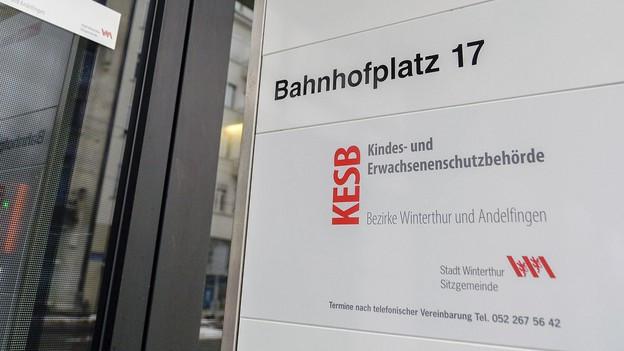 Kesb Winterthur blitzte mit Beschwerde ab