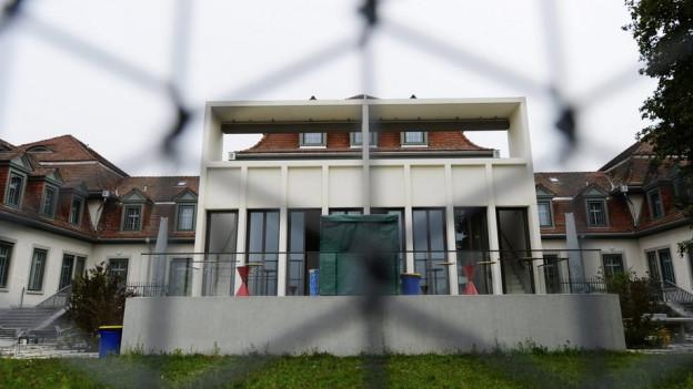 Die Klinik für forensische Psychiatrie in Rheinau.