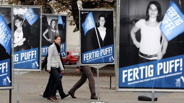 Die Kampagnen haben genützt: Es gibt weniger «Puff»